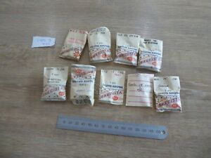 USEFUL LOT OF MIXED POCKET WATCH HAIRSPRINGS FOR THE WATCHMAKER