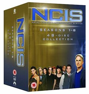 NCIS 1-8 NAVY CIS KOMPLETTE DVD STAFFEL 1 2 3 4 5 6 7 DEUTSCH STAFFEL 8 ENGLISCH