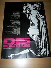 DIE UNERSÄTTLICHEN - Kinoplakat A1 WA 70er - GEORGE PEPPARD Carroll Baker
