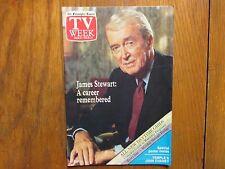 March 8, 1987 Philadelphia Inquirer TV Week (JAMES STEWART: A CAREER REMEMBERED)