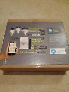 GE Link Starter Kit - Connected LED Bulbs and Hub ...New!