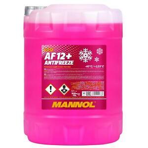 Kühlerfrostschutz Rot G12+ 10L Mannol Antifreeze AF12+ -40°C Kühlmittel Audi VW