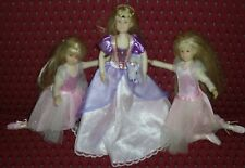 Only Hearts Club Doll Karina Grace Lot of 3- 2 Ballet and I Princess +Bench Exc