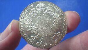 High grade Maria Theresa Thaler .833 silver aUNC - jwhitt60 coins