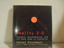 Reality 2.0 : By, Daniel Pinchbeck (4 CD Audiobook)  (CD ROM, 2008) NEW