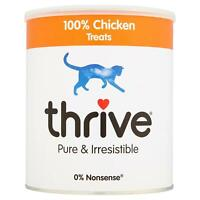 thrive Cat 100% Chicken Treats MaxiTube - 200g - Real Natural Freeze Dried Meat