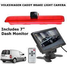 VOLKSWAGEN VW CADDY VAN revertir cámara de luz de freno de alto nivel y monitor Dash