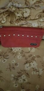Miche Red Wristlet Wallet with Wrist strap