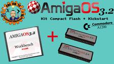 "Amiga OS 3.2 + Kickstart ROM 3.2 x A1200 (Nuovo ""Workbench"" Amiga) Compact Flash"