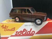 Solido Hachette - 55 - Range Rover  1/43 boite