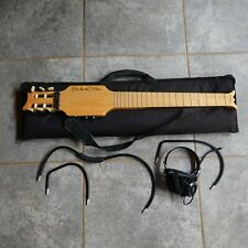 Wright SOLOETTE backpack Travel Guitar and case.