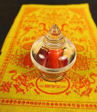 SARIRA PHRA TATH / THAD / THAT BUDDHA RELIC STUPA RED CORAL TEMPLE WAT MAHATHAT