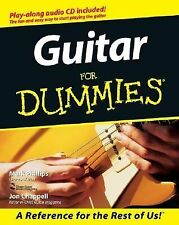 Guitar for Dummies by Jon Chappell and Mark Phillips Paperback book CD