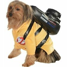 """Ghostbusters Pet Costume Movie Dog Outfit Small Neck to Tail 11"""" Chest 17"""""""