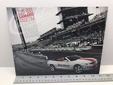 Indy 500 Camaro Convertible Pace Car Hero Card Collectible - RARE