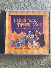 Disney's The Hunchback Of Notre Dame CD Rom press kit