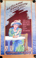 BROADWAY  POSTER-ANNA CHRISTIE-ORIGINAL