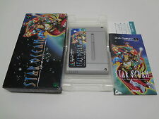 Star Ocean + Reg Card Nintendo Super Famicom Japan