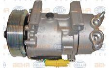 HELLA Compresor aire acondicionado 12V Para PEUGEOT CITROEN C3 8FK 351 134-331