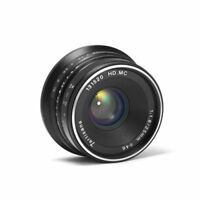 7artisans 25mm f/1.8 Manual focus Lens for Fujifilm X mount APS-C X-Pro2 T10 T20