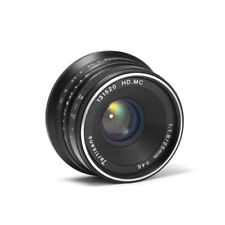 7artisans 25mm f/1.8 Manual focus Lens for Canon EOS M EF-M mount APS-C M M10 M3