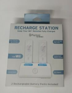 Recharge Station For Wii Psyclone Essentials new sealed charger charging nib