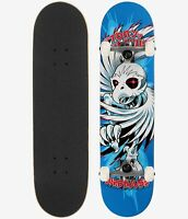 "Birdhouse Skateboard Complete Tony Hawk Spiral 7.75"" Blue"