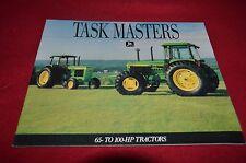 John Deere 2555 2755 2955 3255 Tractor Dealer's Brochure YABE11 VER90