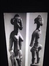 Senufo Primitive Deble Figures African Tribal Art 35mm Vintage Slide