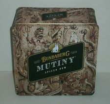 Bundaberg Bundy Rum brand new Mutiny tin with lid for home bar pub collector