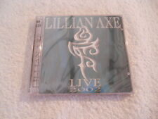 "Lillian Axe ""Live 2002""  2cd Red & Gold Records Printed in USA New Sealed"