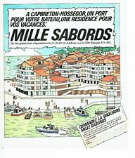 Publicité Advertising 037  1975  Mille Sabords  appartements Cap Breton Hossegor