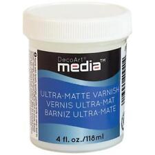 DecoArt Media Varnish 4oz (118ml) - Ultra Matte DMM24