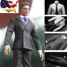 "1/6 men Vintage Style classic business suit for 12"" figure hot toys US Seller"