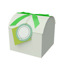"Green 5x5x5"" S Treasure Chest Box - Toy & Gift Box - Paper Box with Lid - Boxes"
