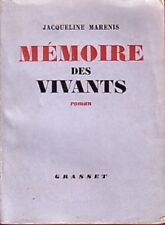 C1 Jacqueline MARENIS Memoire des Vivants 1939 1940 Concession Internationale