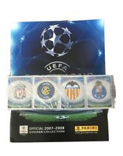 Panini Champions League 2007-2008 Complete sticker Album + Free Album