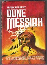 DUNE MESSIAH ,FRANK HERBERT HARD COVER 1969 BOOK CLUB EDITION;TV SERIES 2003