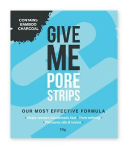 1 x Give Me - Bamboo Charcoal Nose Pore Strips / 1 pack=4 strips⚡Fast Dispatch⚡