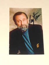 Singer RAY STEVENS Signed 4x6 Photo COUNTRY MUSIC AUTOGRAPH 1B