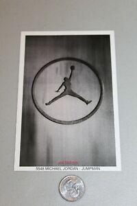 RARE Michael Jordan Chicago Bulls Mini promo Poster MINT JUMPMAN NIKE 1997 MINT