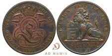 5 centimes 1859 Léopold Premier Belgique SUP - Cuivre