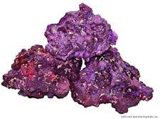 Aquarium Tank Purple Coral Base Rocks Natural Unique Shapes Decorations 4-8 Inch