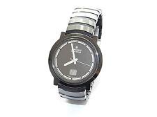 JUNGHANS, Mega, Solare, Radio Controllata, CERAMICA, CERAMIC, date, Hau, wrist watch, montre, Orologio
