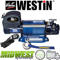 Westin Superwinch Talon 12.5SR Synthetic Rope Electric Winch Universal Fitment