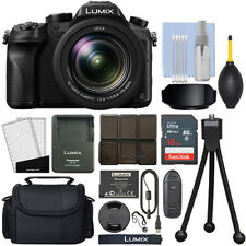 Panasonic Lumix DMC-FZ2500 20.1 MP 4K Digital Camera 20x Optical Zoom + 16GB Kit