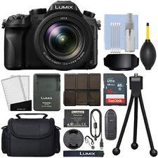 Cámara digital Panasonic Lumix DMC-FZ2500 20.1 Mega píxele 4K zoom óptico de 20x + Kit de 16GB