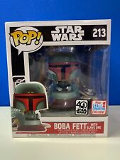 BOBA FETT WITH SLAVE ONE-FUNKO POP! 213 STAR WARS-FALL CONVENTION EXCLUSIVE 2017