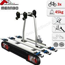 Project Tilting 3 - MENABO Fahrradträger Anhängerkupplung für 3 Räder Heckträger