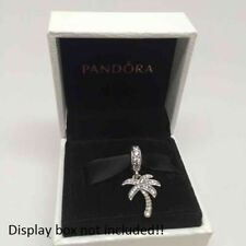 Authentic PANDORA SPARKLING PALM TREE Beach VACATION Charm~Bead 791540CZ